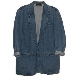 Vintage Jean Jacket Blazer Denim